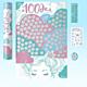 Скретч-постер #100ДЕЛ настоящей девочки «Oh my look edition»